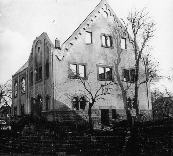 brennende synagoge 1938